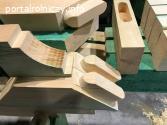 Produkcja wiązarów dachowych i więźby CNC